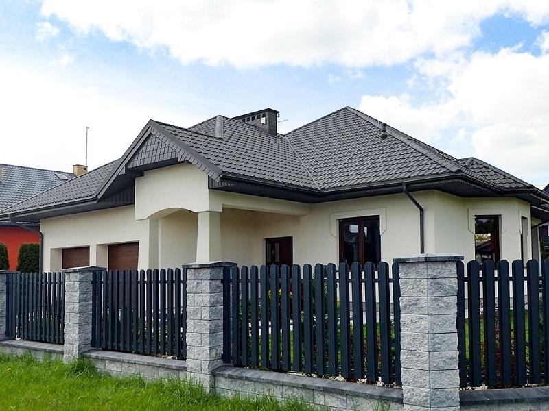 Bratex wzór Platino na dachu