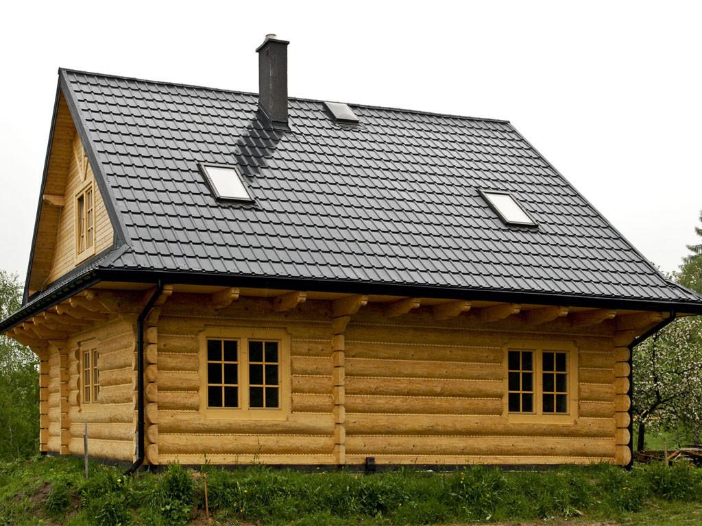 Blachodachówka Allano na dachu