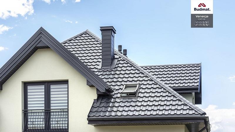 Venecja grafitowa na dachu